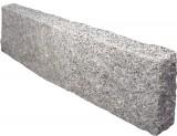 Bordure Rectangulaire Fendue en Granit 7x18x100 cm Pièce de 44 kg